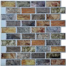 a17014p6 art3d l and stick kitchen backsplash tile 12in x 12in pack of 6 sheets