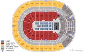 Edmonton Oilers Seat Map Keith Urban Rogers Arena Seating