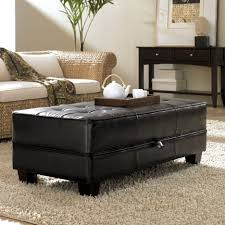 Ottoman In Living Room Living Room Attractive Living Room Storage Ottoman With Round