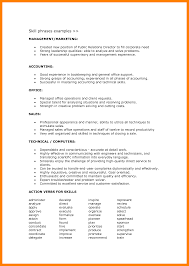 Technical Skills On A Resumes 16 Skills Example For Resume Phoenix Officeaz