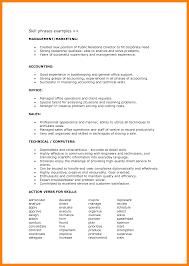 Technical Skills Cv 16 Skills Example For Resume Phoenix Officeaz
