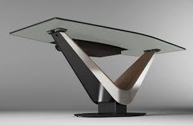 modern glass office desk. CADO Modern Furniture - VICTOR Desk Glass Office