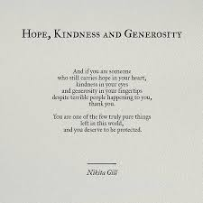 Soul Love Quotes Hope Kindness and Generosity by Nikita Gill pinterest 56