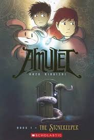 books for kids graphic novels amulet 1 stonekeeper