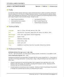 Cv Formatting Software Download Testing Resume Samples Developer