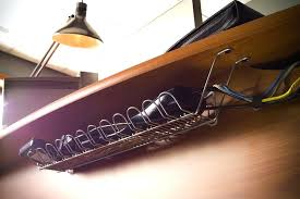 desk cable organizer image of office desk cable management desk cable organizer tray 36 by wirerun desk cable