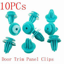 New <b>10PCs</b> Green Door <b>Trim Panel</b> Retainers <b>Clips</b> for Toyota ...