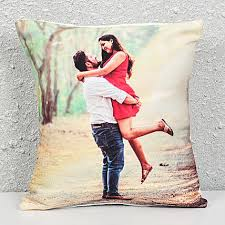 personalized cushion gift send personalised gifts to chandigarh