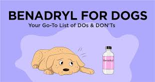 Dog Antihistamine Dosage Chart Benadryl For Dogs Your Go To List Of Dos Donts Simple Wag