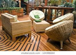 furniture made of bamboo. Handcrafted Furniture Typical Of A House In Bamboo Made