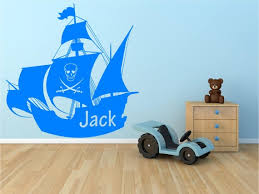 home décor items pirate ship