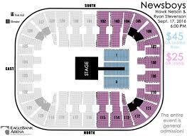 59 Curious Eaglebank Arena Seating Chart