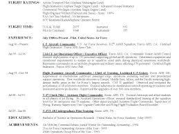 Pilot Resume Classy Sample Airline Pilot Resume Davidkarlsson
