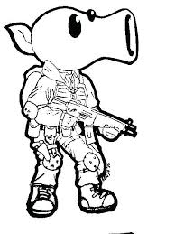 Free Coloring Pages Plants Vs Zombies I4749 Plants Characters Vs