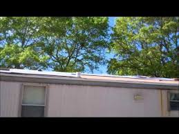rubber roofing over a mobile home rubber roof13