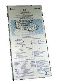 alaska highway vfr navigation chart canada