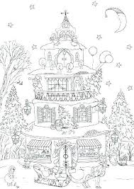 House Coloring Page Spiritualnews24info