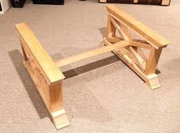 coffee table base wood ideas diy metal round glass