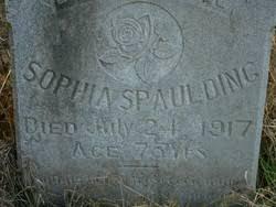 Sophia Riley Spaulding (1849-1917) - Find A Grave Memorial