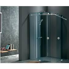 sliding glass door system shower door