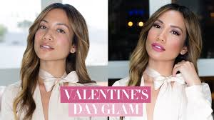 valentine s day makeup tutorial 3 lip options