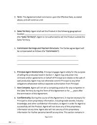 Residential lease agreement available for all states. Commission Agreement Docsketch