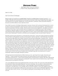 How To Type A Resume Cover Letter Resume Cover Letter Paper Type