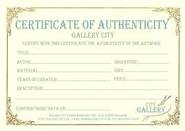Ideas Of Certificate Of Authenticity Template Uk Images Certificate