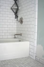 subway tiles tile site largest selection: white subway tile traditional bathroom hexagon marble tiled floor good example of white