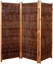 Gartenpirat Weiden Paravent Raumteiler 180x140 Cm Lxh 3 Teilig Aus