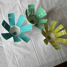 easy easter crafts for two year olds. craft perfect for a 2 year old. how we learn to make paper cup flowers easy easter crafts two olds