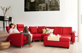 room colors with a red sofa latest