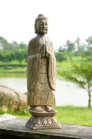 buddha garden statue. Meditating Buddha Garden Statue C
