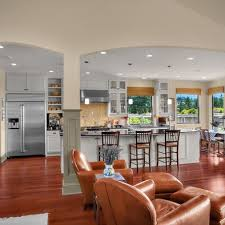Best 25+ Kitchen Open To Living Room Ideas On Pinterest | Half Wall Kitchen,  House Design And Open Kitchens