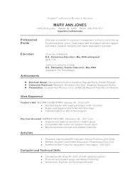 Canadian Format Resume Samples Resume Letter Directory
