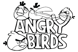 coloring angry bird angry birds coloring pages angry birds coloring book printable