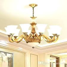 antique copper chandelier high end luxury new modern style unique special brass for hotel villa home antique copper chandelier