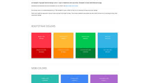 Bootstrap Material Design Example Material Design Colors Material Design For Bootstrap