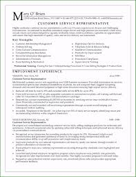 Resume For A Customer Service Representative Customer Service Skills Resume Examples Amazing Skills For