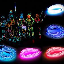 Neon Rope Lights For Sale Details About Flash Flexible Fairy Led Tron Neon Glow El