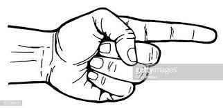 60点の人差し指のイラスト素材クリップアート素材マンガ素材