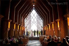 kansas city wedding photography the chapel during a powell gardens