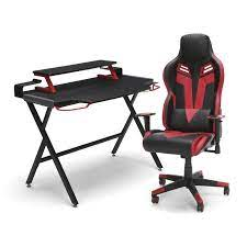 res gaming desk and chair set