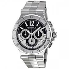 bvlgari watches jomashop page 2 bvlgari diagono black chronograph stainless steel men s watch dg42bssdch