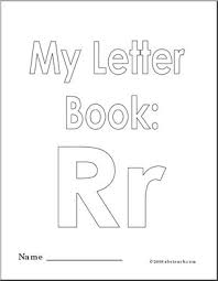 coloring pages my letter r coloring book large image
