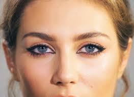 mac pro longwear eye liner charlotte tilbury feline eye or cat eye makeup