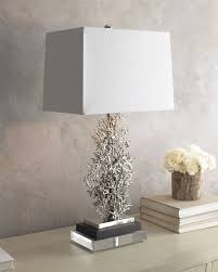 silver table lamps living room inspirational c inspired table lamp aegbwai