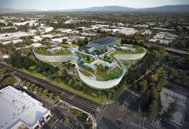 central wolfe optional 208000 sf rooftop garden apple new office design