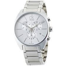 calvin klein watches overstock com the best prices on designer calvin klein men s exchange k2f27126 silver stainless steel swiss quartz watch
