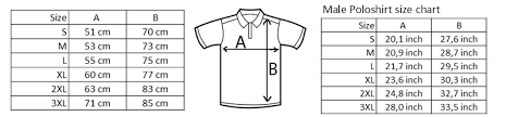 Polo Shirt Size Chart Us Best Picture Of Chart Anyimage Org